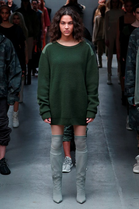 Kanye West x Adidas Originals Ready to Wear FW 2015 NYFW (45)