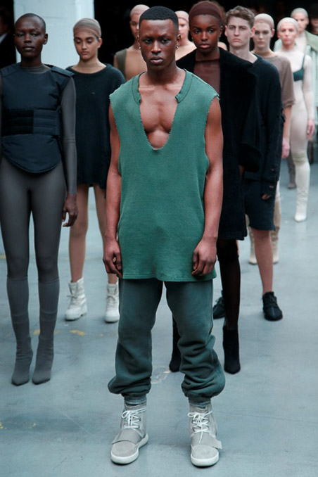 Kanye West x Adidas Originals Ready to Wear FW 2015 NYFW (47)