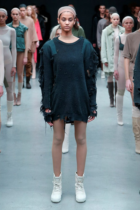 Kanye West x Adidas Originals Ready to Wear FW 2015 NYFW (8)