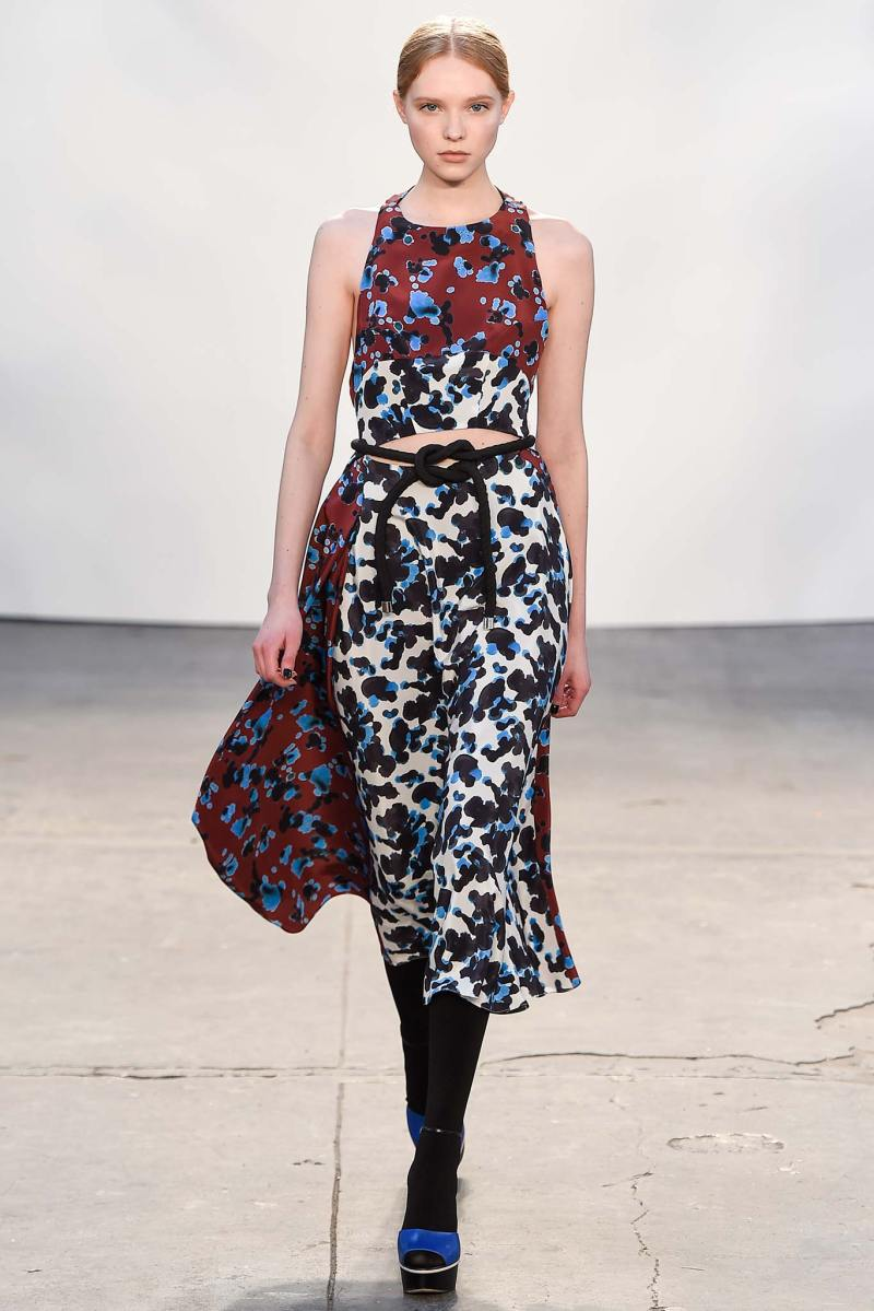 Tanya Taylor Ready to Wear FW 2015 NYFW (21)