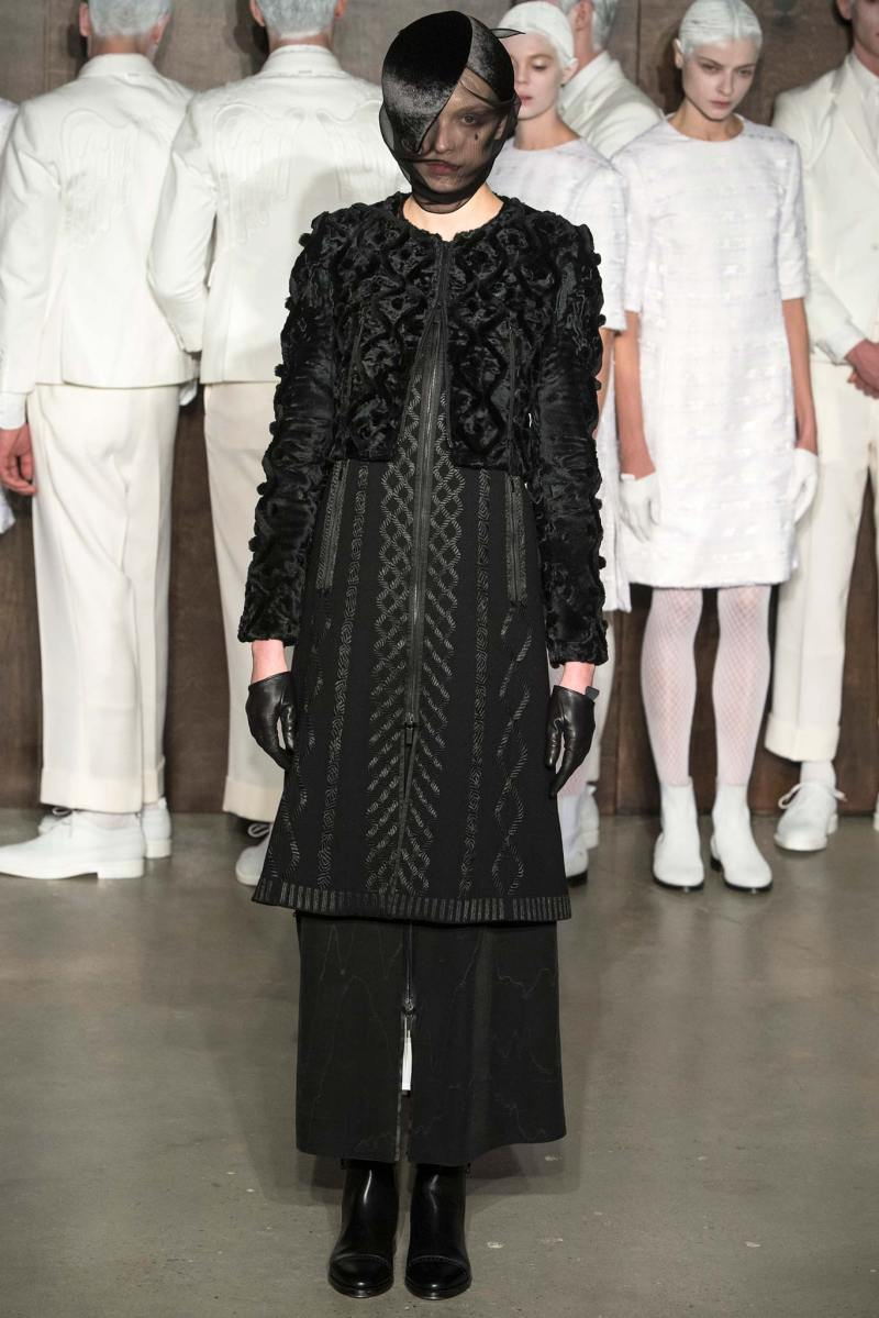 Thom Browne Ready to Wear FW 2015 NYFW (15)