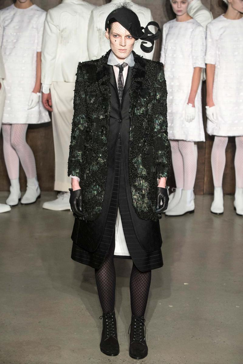 Thom Browne Ready to Wear FW 2015 NYFW (21)