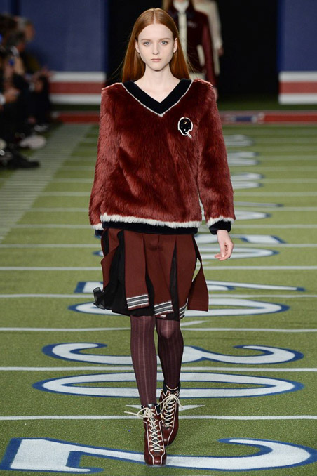 Tommy Hilfiger Ready to Wear FW 2015 NYFW (12)
