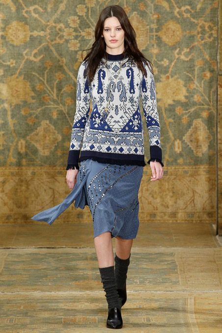 Tory Burch Ready to Wear FW 2015 NYFW (2)