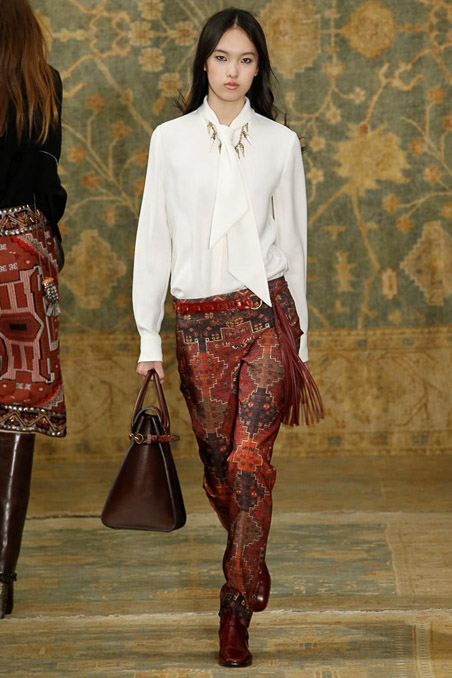 Tory Burch Ready to Wear FW 2015 NYFW (29)