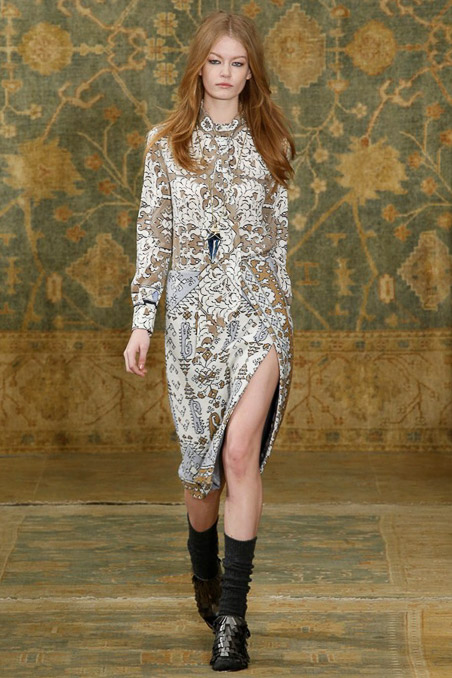 Tory Burch Ready to Wear FW 2015 NYFW (3)
