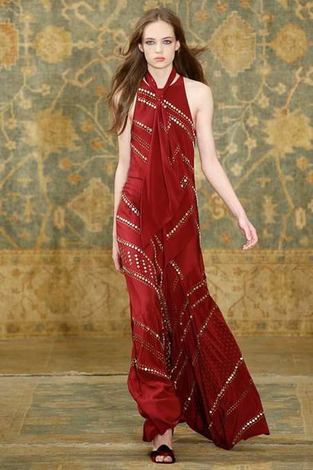 Tory Burch Ready to Wear FW 2015 NYFW (34)