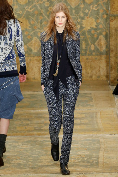 Tory Burch Ready to Wear FW 2015 NYFW (7)
