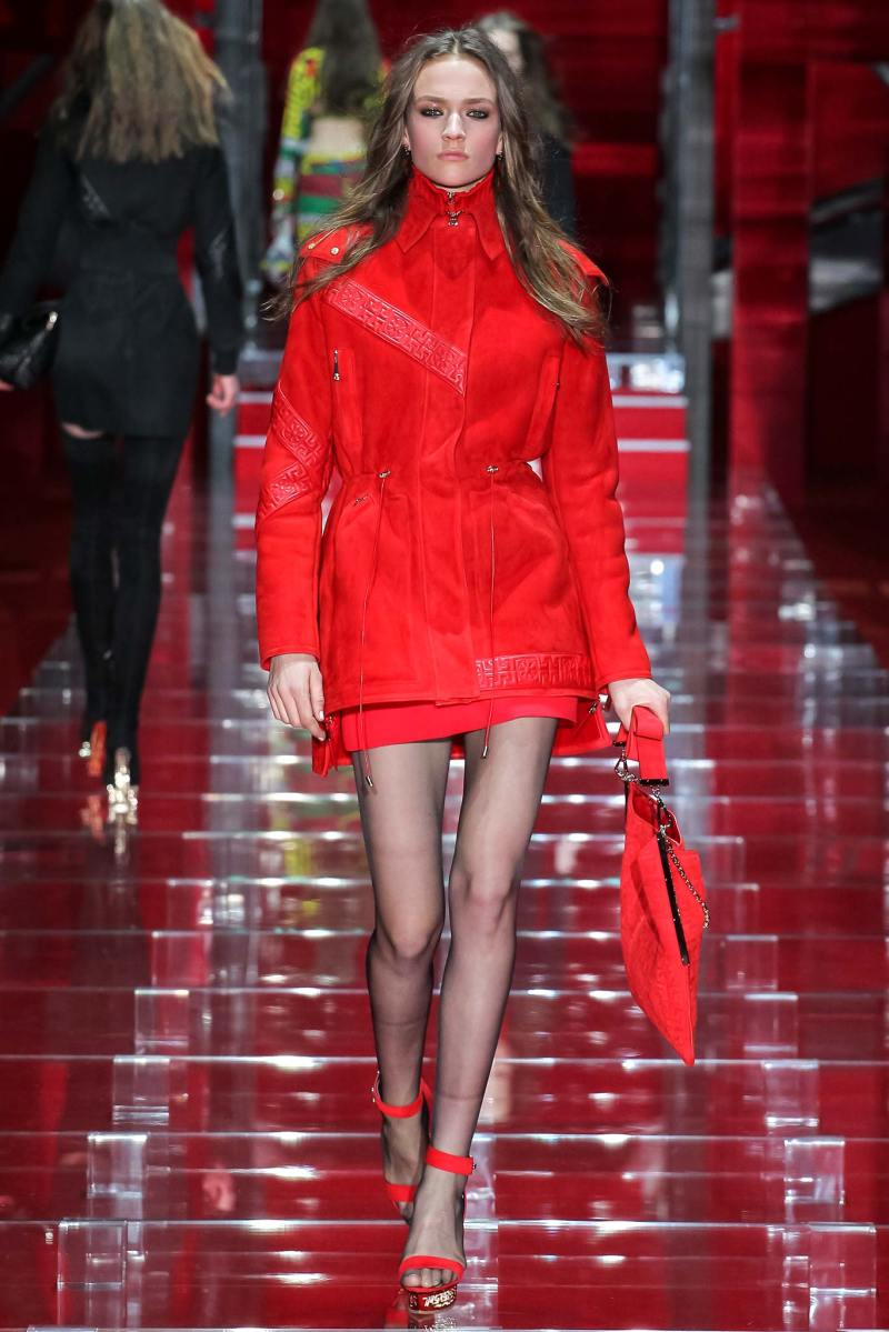Versace Ready to Wear FW 2015 MFW (24)