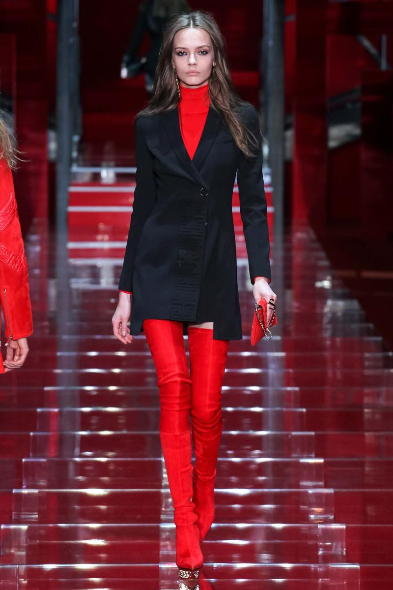 Versace Ready to Wear FW 2015 MFW (25)