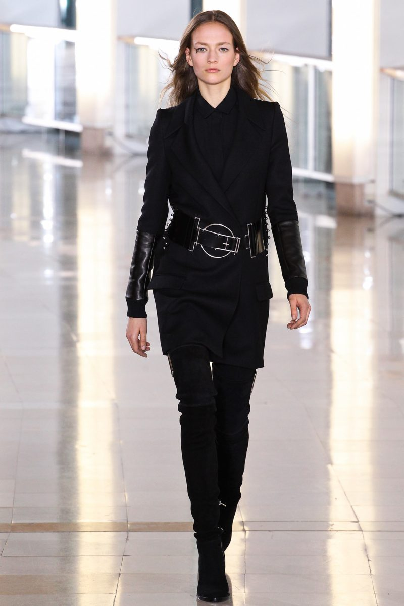 Anthony Vaccarello Ready to Wear FW 2015 PFW (1)