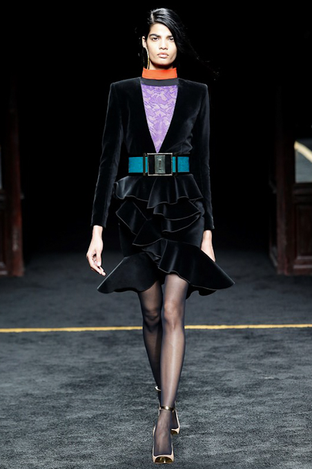 Balmain Ready to Wear FW 2015 PFW (28)