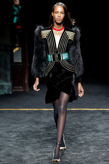 Balmain Ready to Wear FW 2015 PFW (34)