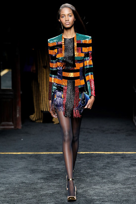 Balmain Ready to Wear FW 2015 PFW (45)