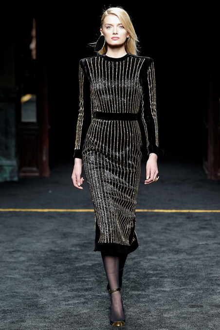 Balmain Ready to Wear FW 2015 PFW (46)