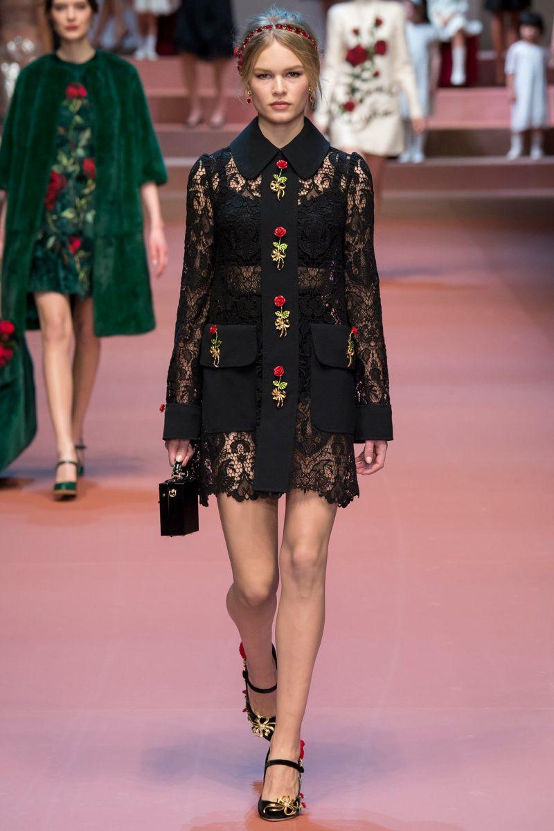 Dolce & Gabbana Ready to Wear FW 2015 MFW (10)