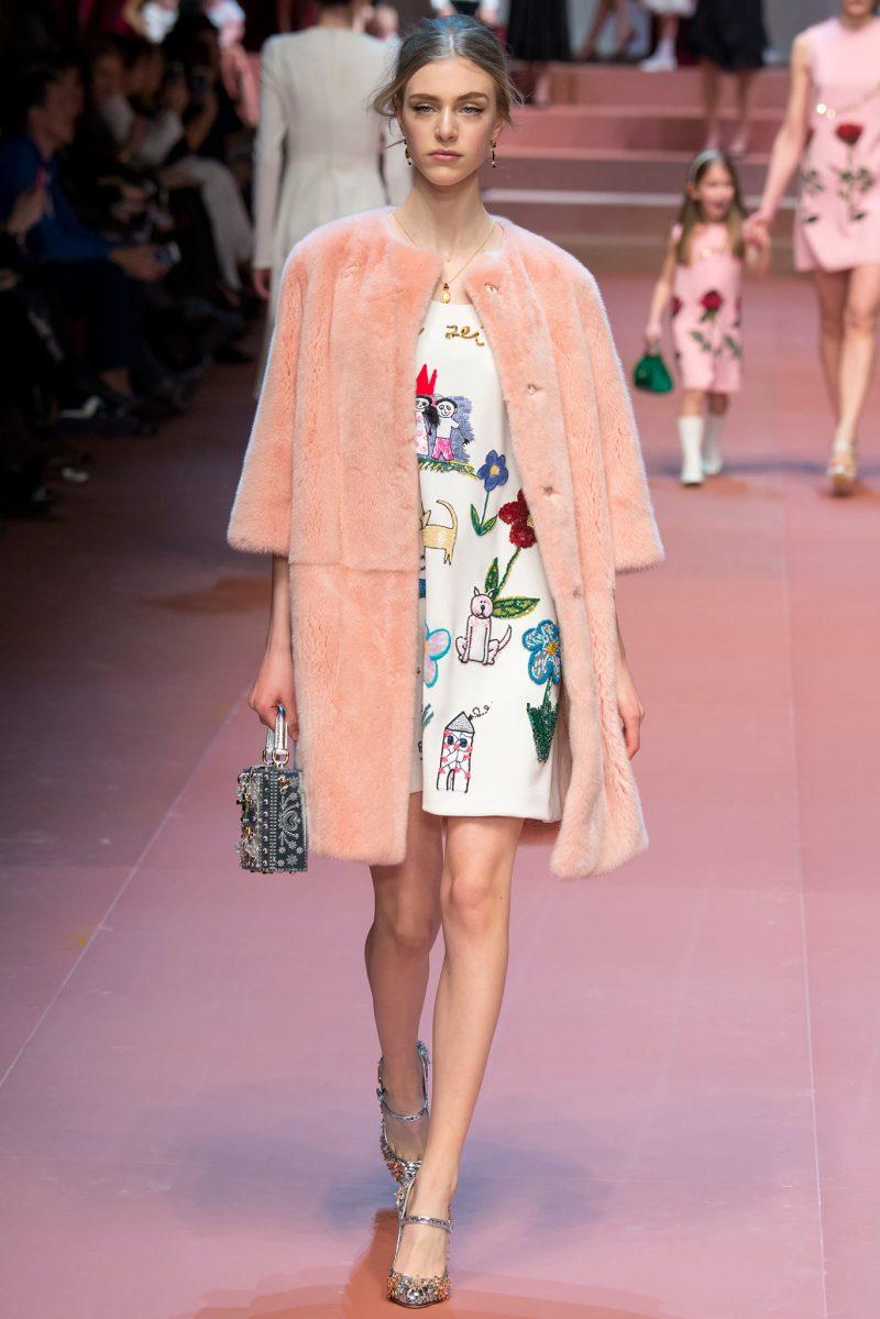 Dolce & Gabbana Ready to Wear FW 2015 MFW (28)