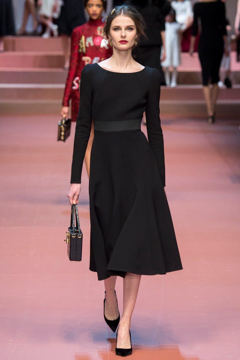 Dolce & Gabbana Ready to Wear FW 2015 MFW (49)