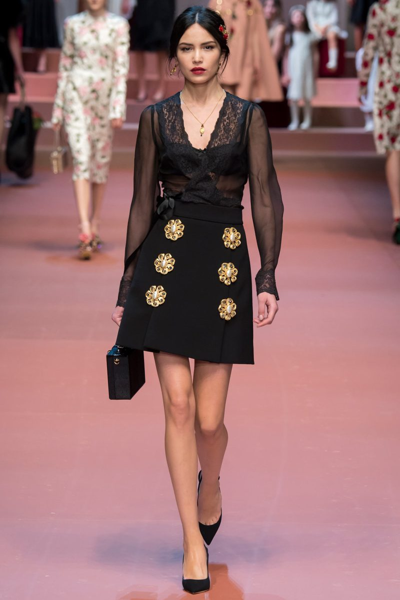 Dolce & Gabbana Ready to Wear FW 2015 MFW (62)