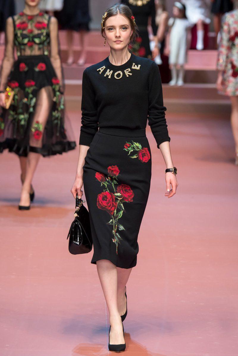 Dolce & Gabbana Ready to Wear FW 2015 MFW (68)