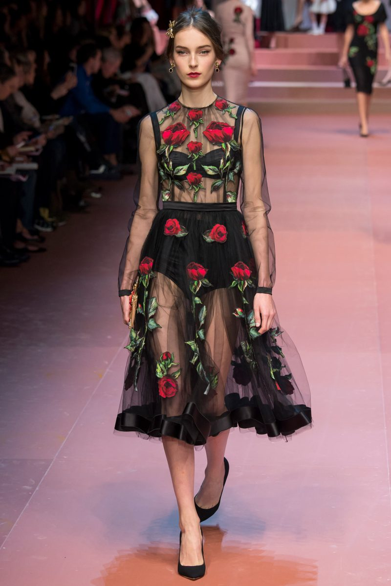 Dolce & Gabbana Ready to Wear FW 2015 MFW (69)