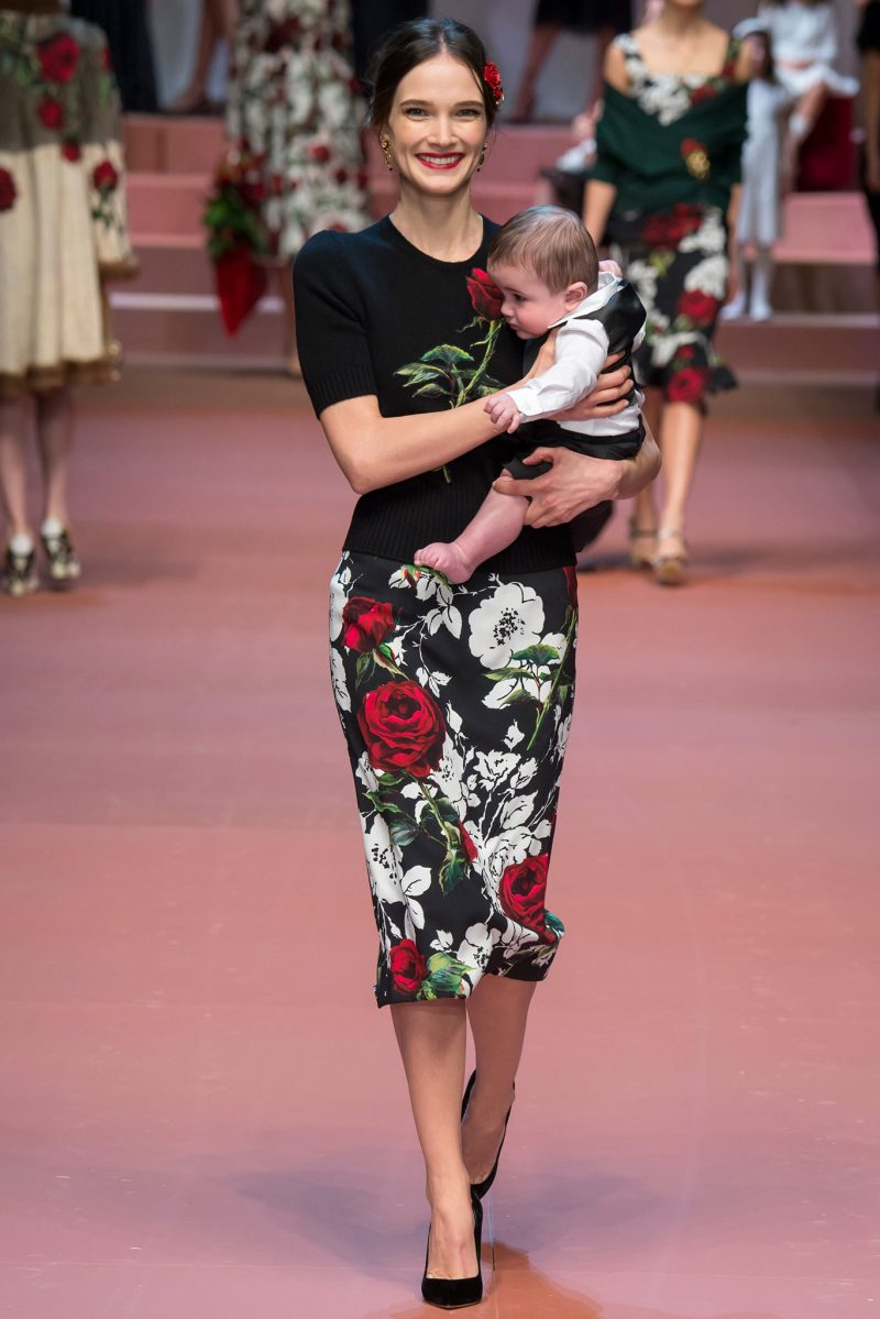 Dolce & Gabbana Ready to Wear FW 2015 MFW (74)