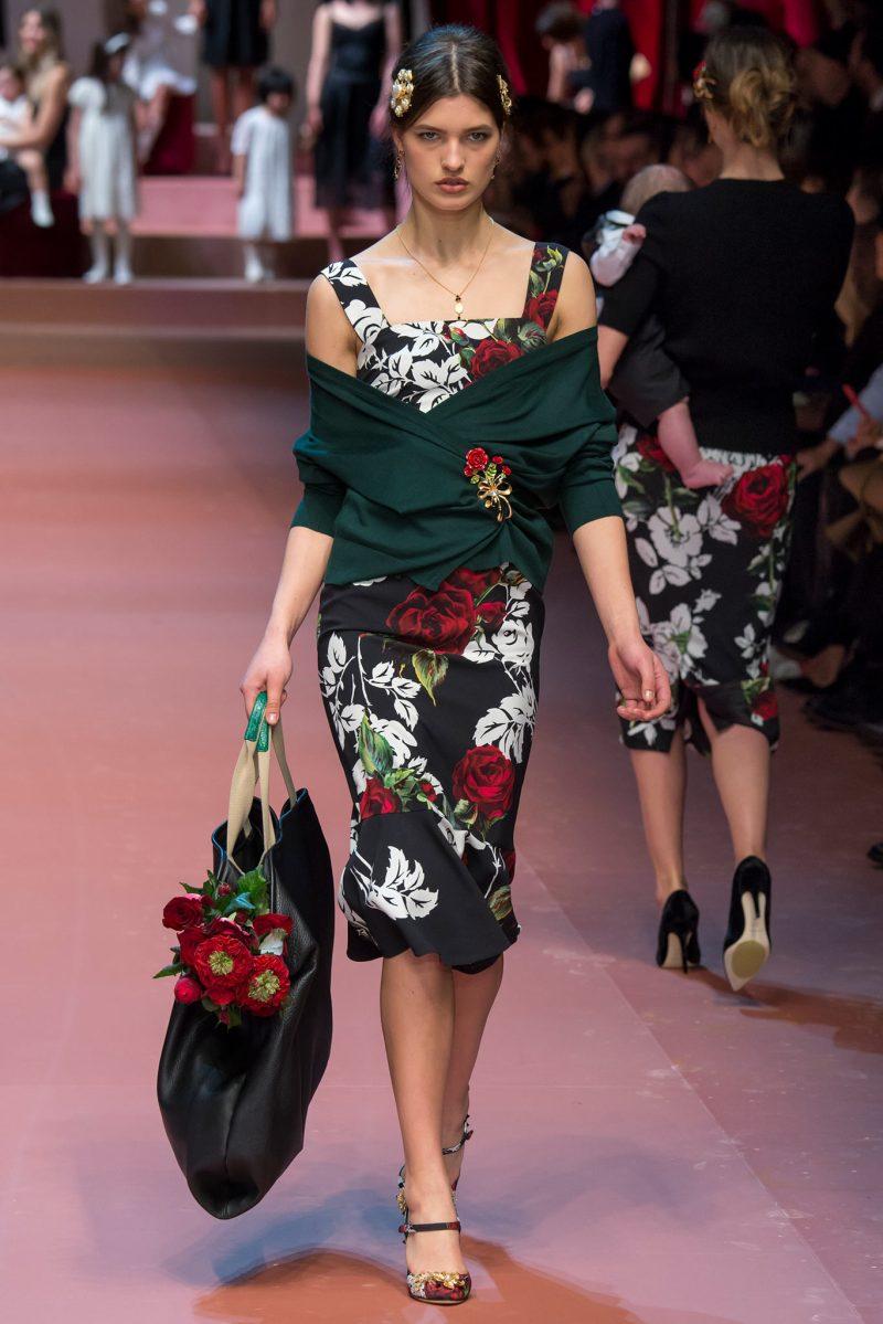 Dolce & Gabbana Ready to Wear FW 2015 MFW (75)