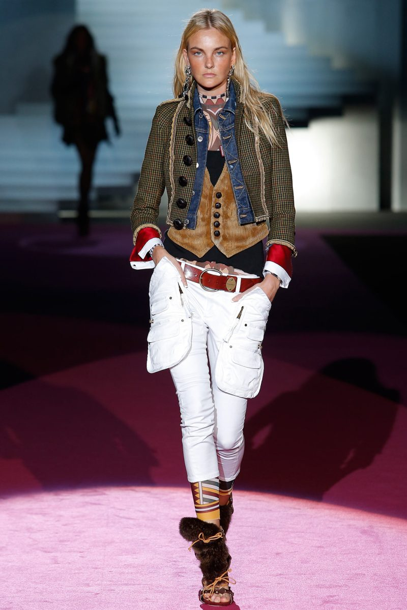 Dsquared² Ready to Wear FW 2015 MFW (1)
