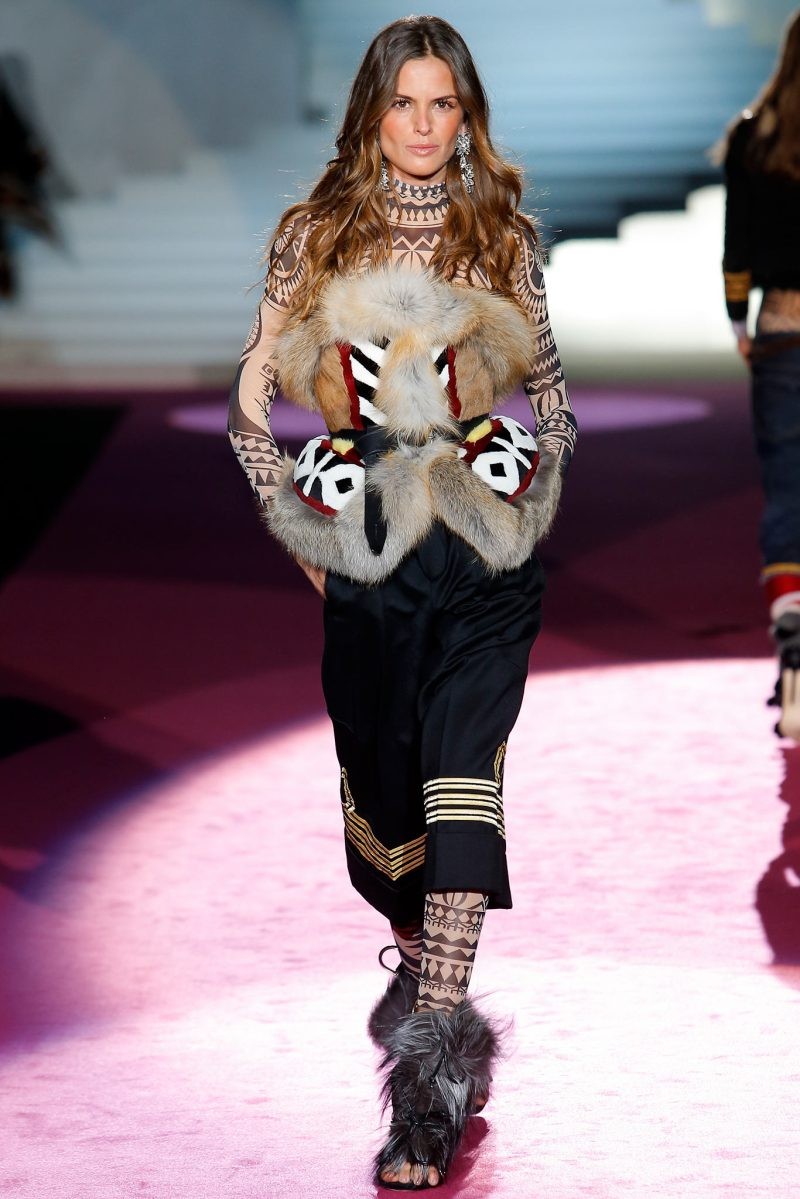Dsquared² Ready to Wear FW 2015 MFW (26)
