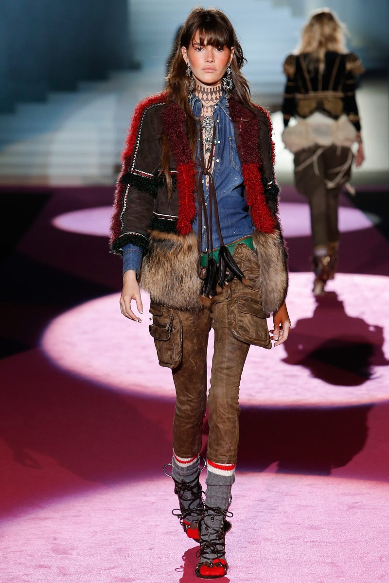 Dsquared² Ready to Wear FW 2015 MFW (4)