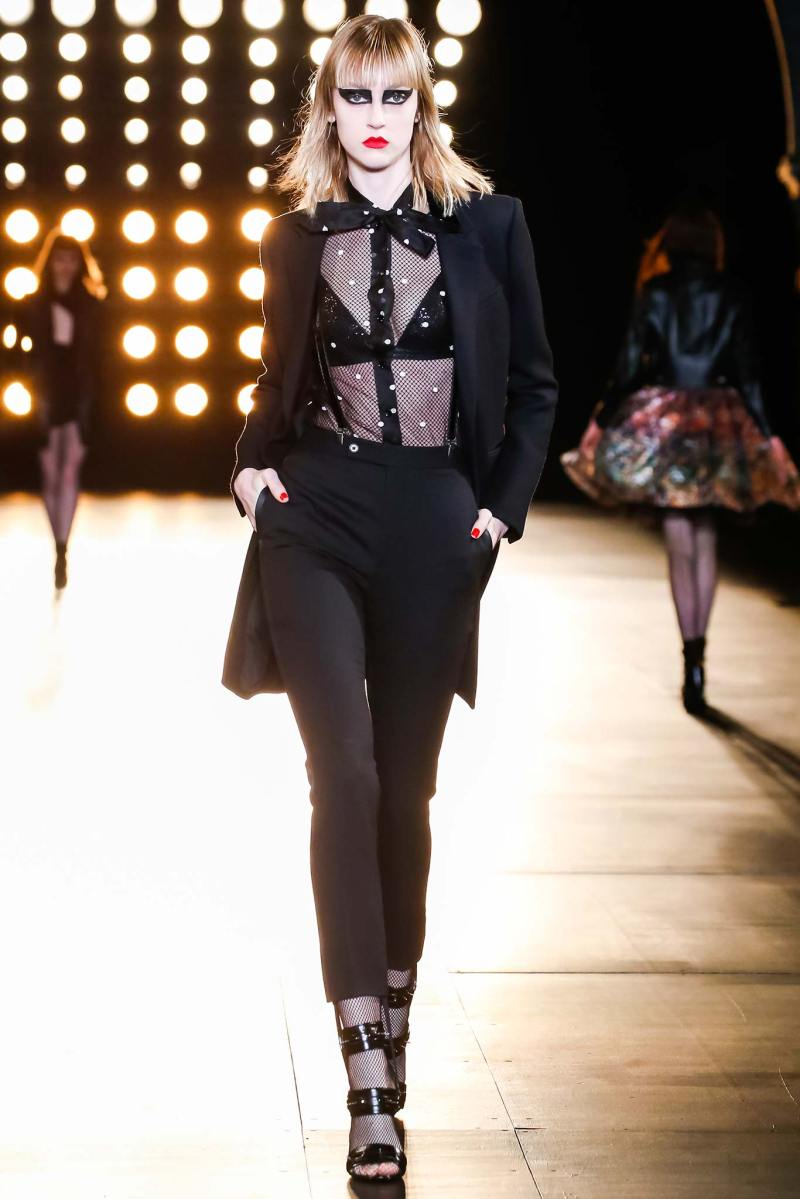 Saint Laurent Ready to Wear FW 2015 PFW (15)