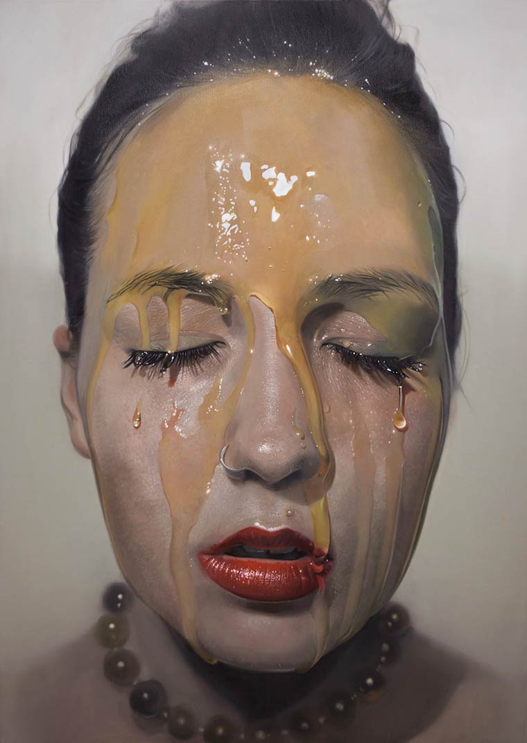 Sticky Hyperrealism Portraits by Mike Dargas (4)