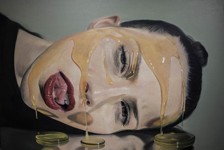 Sticky Hyperrealism Portraits by Mike Dargas (5)