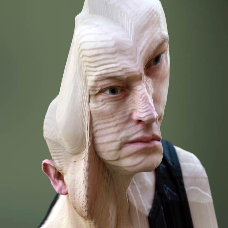 Deformed Portraits by artist Lee Griggs (11)