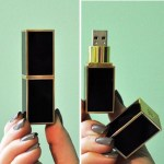 Vintage Lipstick Flash Drives