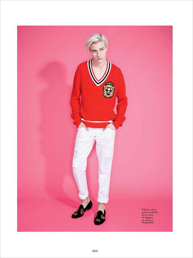 Lucky Blue by Andrew Hail for L'Officiel Hommes (20)