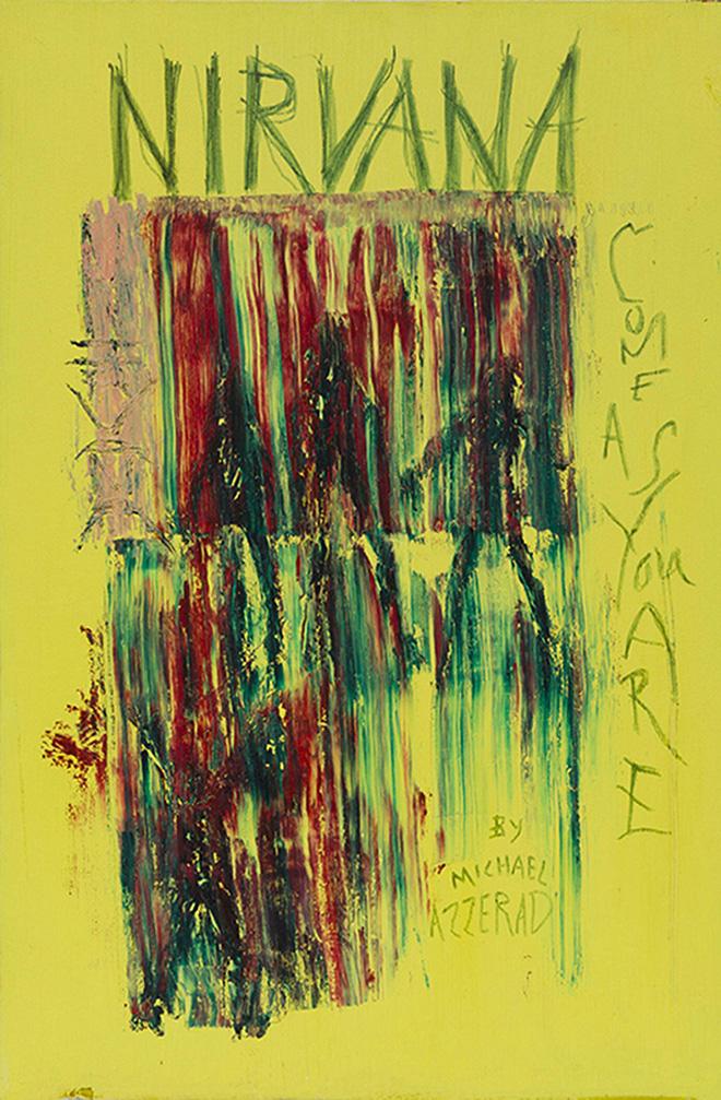 Revealing Kurt Cobains Unseen Paintings