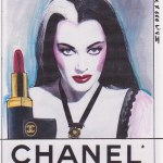 The Chanel x 666 series by artist Roberta Marrero
