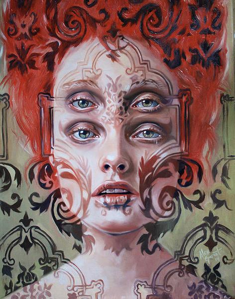 Double Vision Portraits by artist Alex Garant (4)