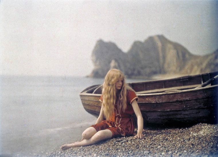 Some of the First Color Photographs by Mervyn O'Gorman  (2)