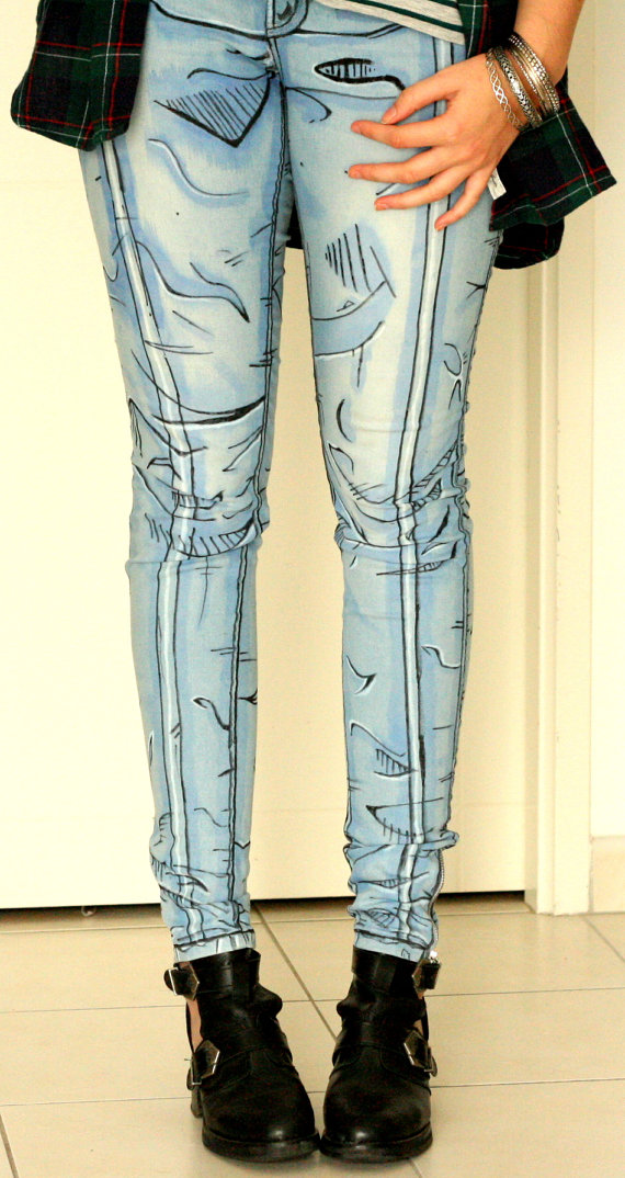 Wearable Cartoon Pants