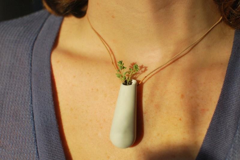 Wearable Planter Jewelry, the Stylish Adults Tamagotchi