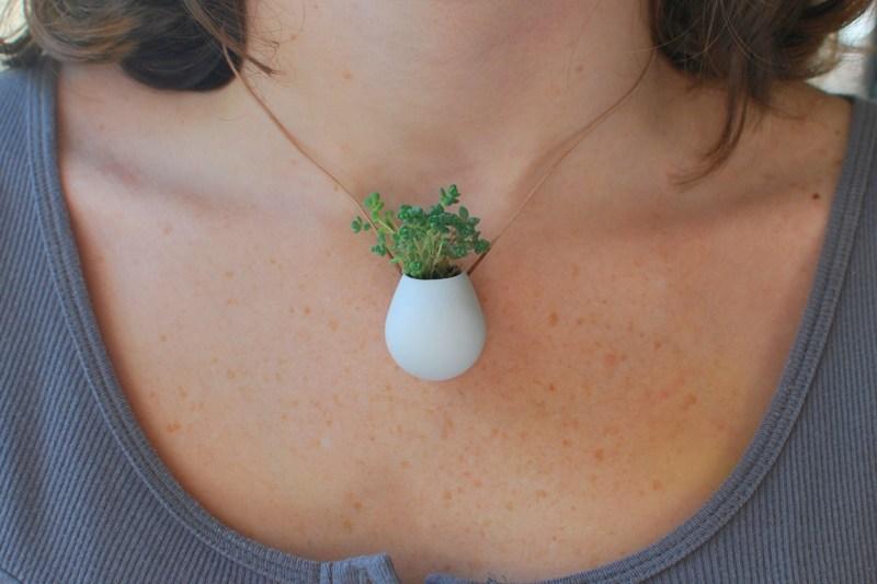 Wearable Planter Jewelry, the Stylish Adults Tamagotchi (4)