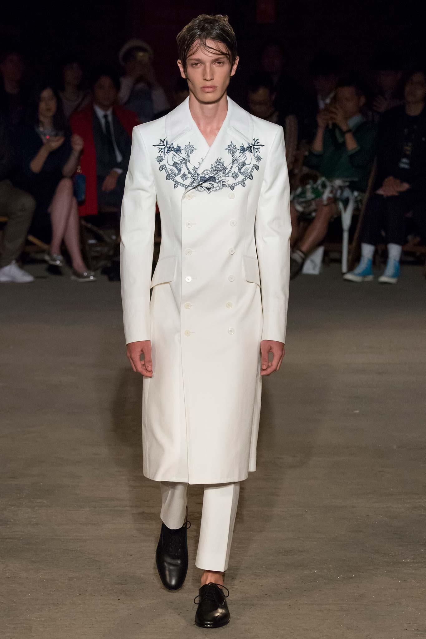 Alexander McQueen Menswear SS 2016 London