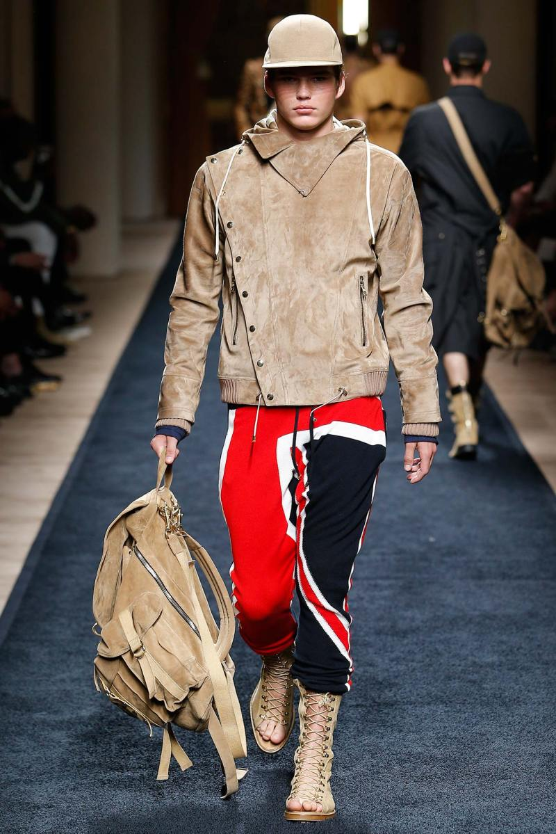Balmain Menswear SS 2016 Paris (40)