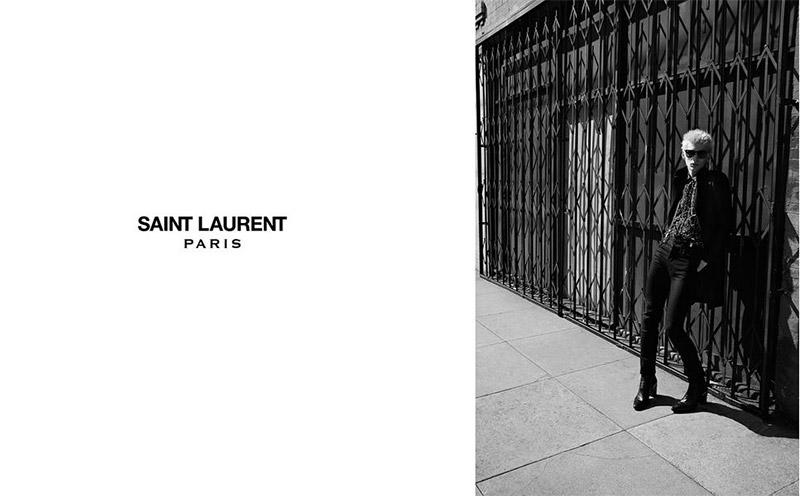 Saint Laurent FW 2015 Print Campaign (10)
