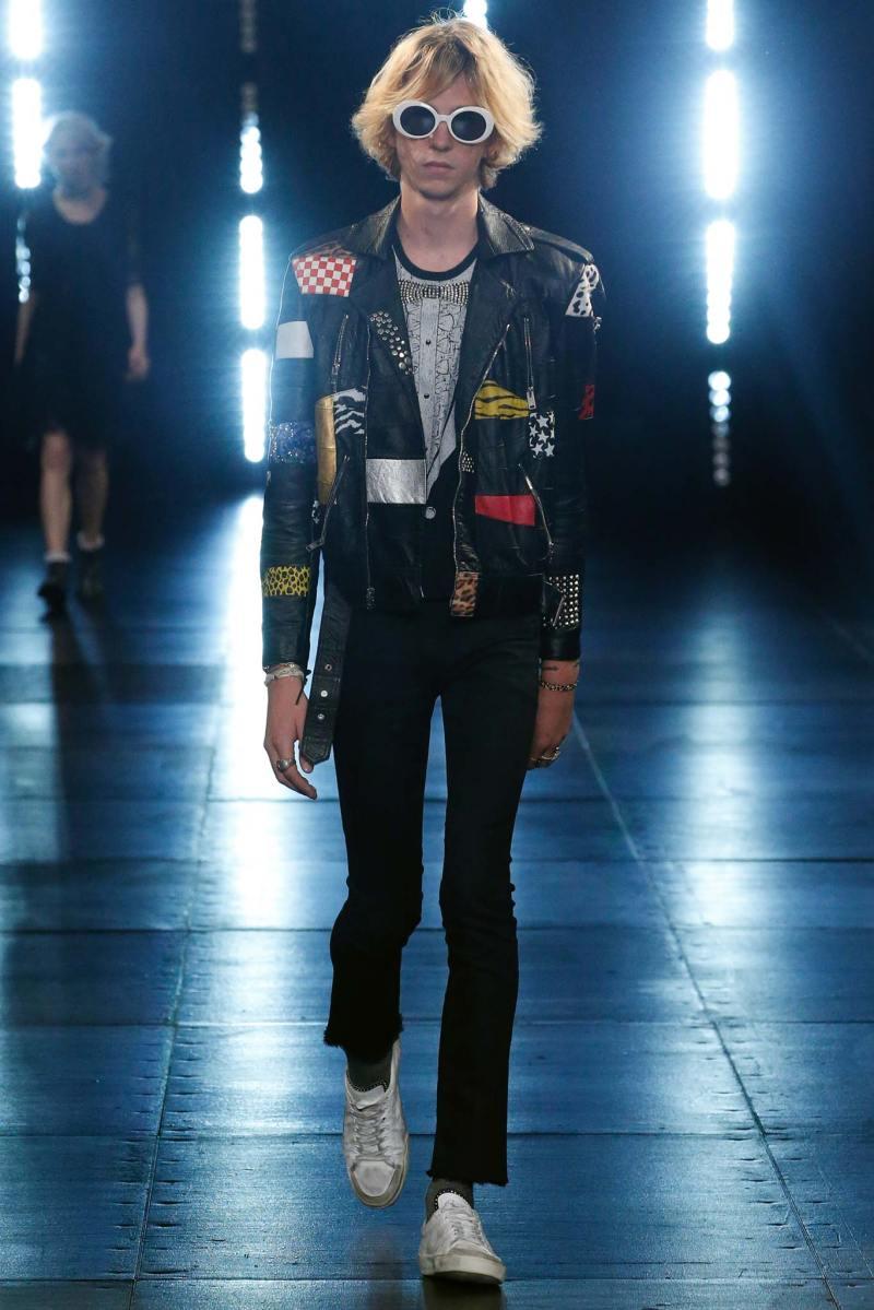 Saint Laurent Menswear SS 2016 Paris (1)
