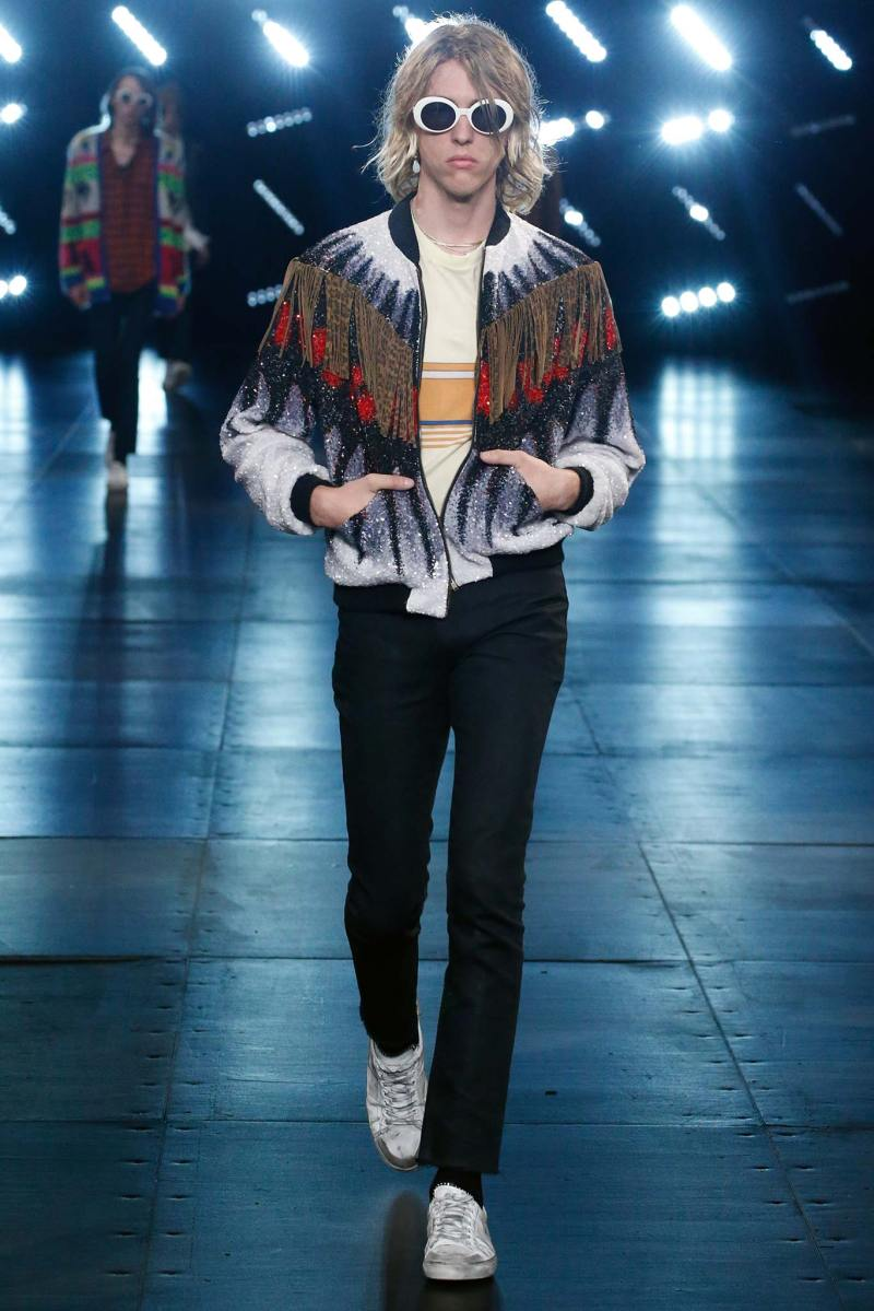 Saint Laurent Menswear SS 2016 Paris (12)