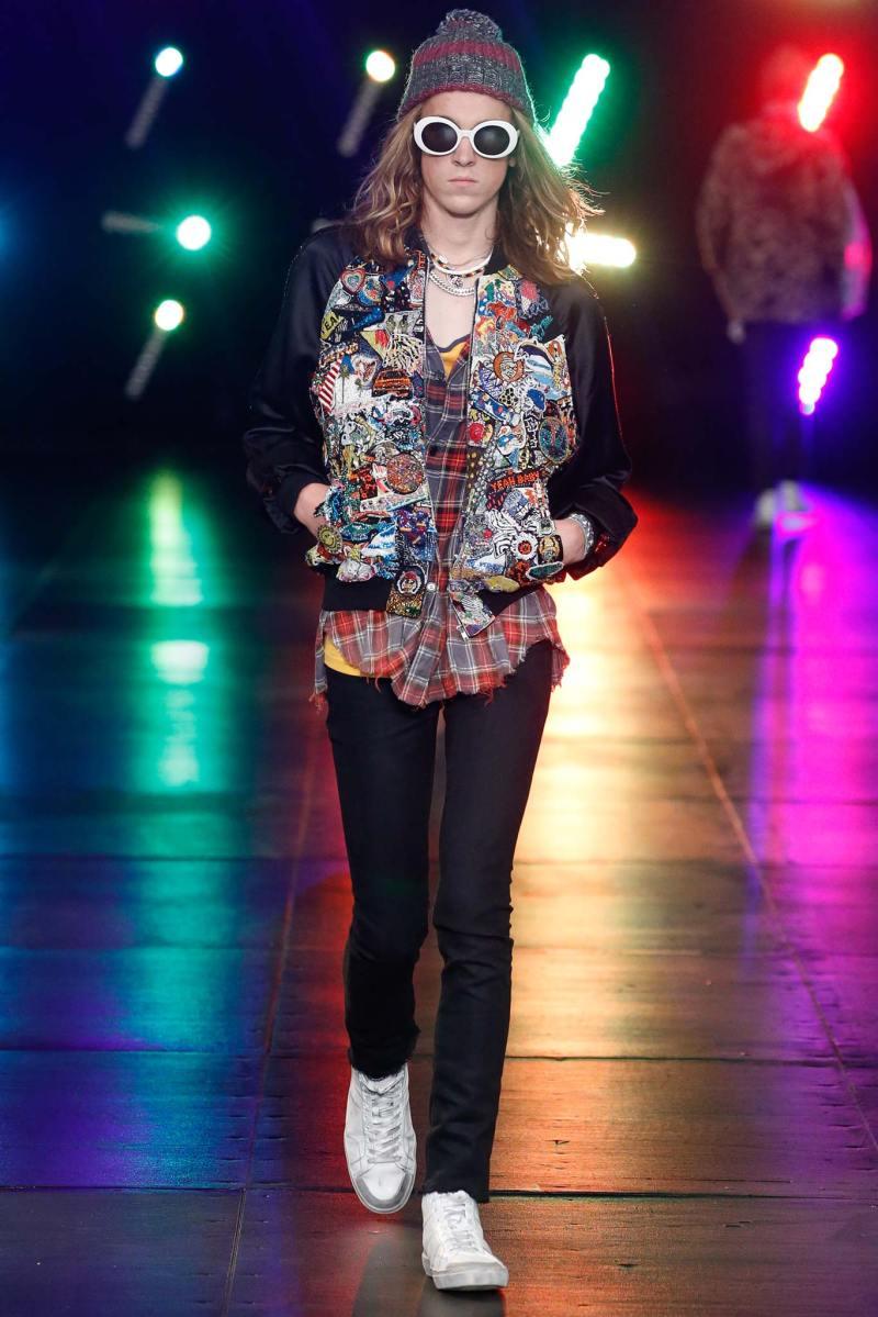 Saint Laurent Menswear SS 2016 Paris (24)