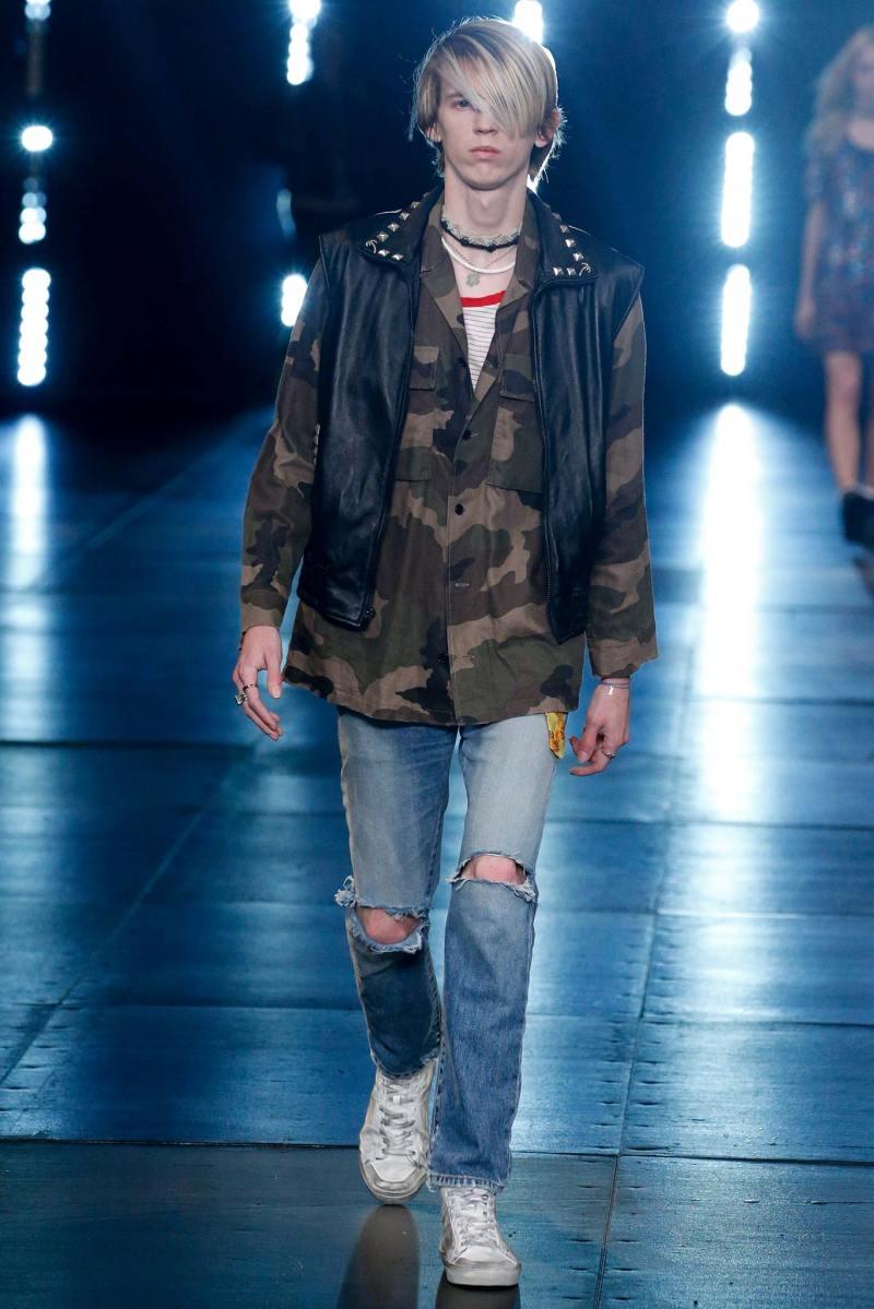 Saint Laurent Menswear SS 2016 Paris (30)